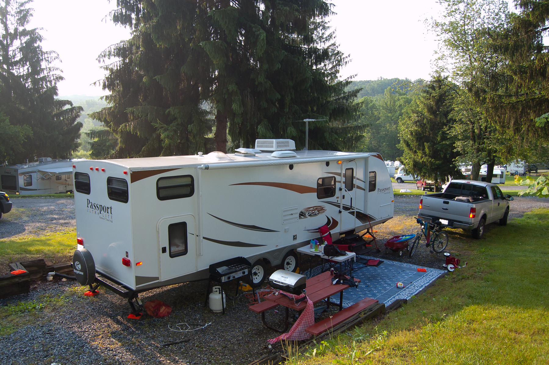 Lake Ford Lewistown Pa >> RV.Net Open Roads Forum: ~Post your campsite photos here~